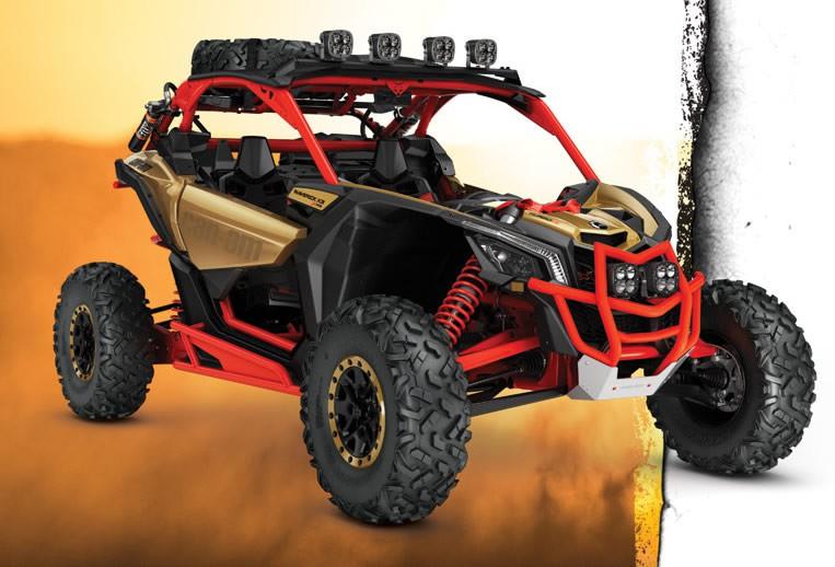 Can-Am Maverick X3 Front Pre-Runner Bumper auf quad-Ro Can Am Maverick Xrs