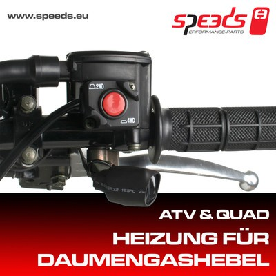 SPEEDS ATV Daumenheizung