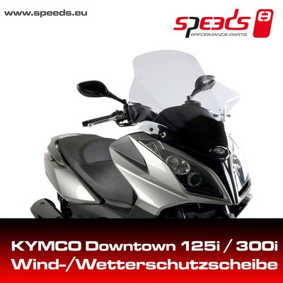 SPEEDS Windschild f. KYMCO DOWNTOWN,X-TOWN