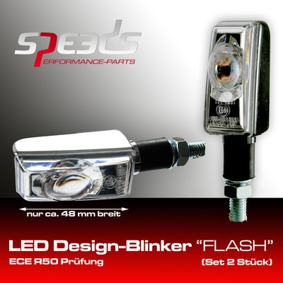 SPEEDS LED Blinker chrom