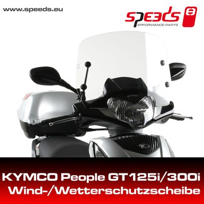 SPEEDS Windsch. People GT125i/300i inc. Haltesatz