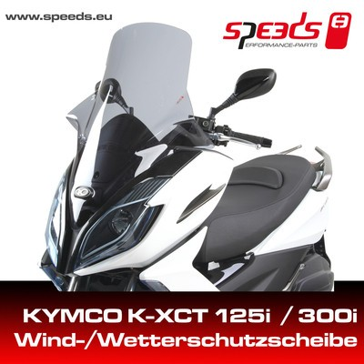 SPEEDS Windschild f. KYMCO K-XCT