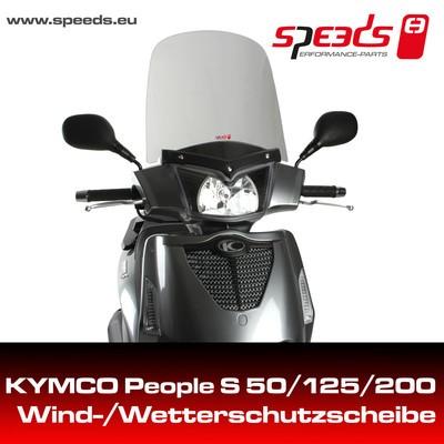 SPEEDS Windschild f. KYMCO PEOPLE S