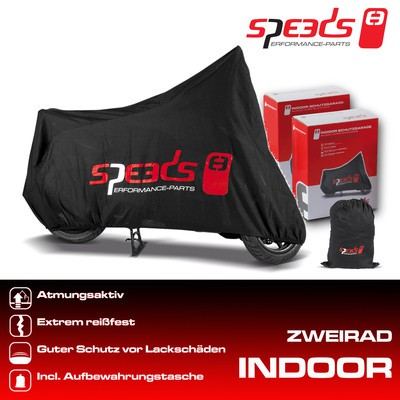 SPEEDS Zweiradgarage INDOOR,Grösse: M,225x90x117cm