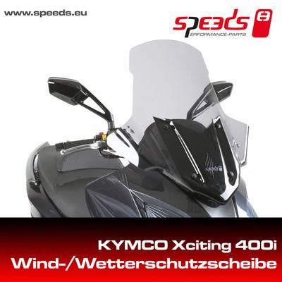 SPEEDS Windschild f. KYMCO XCITING 400i