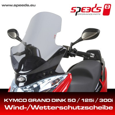 SPEEDS Windschild f. KYMCO Grand Dink
