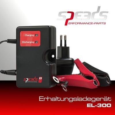 SPEEDS Erhaltungsladegerät 12 Volt, EL300