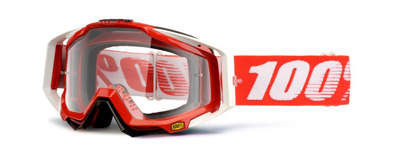100% Cross Brille Racecraft Fire red