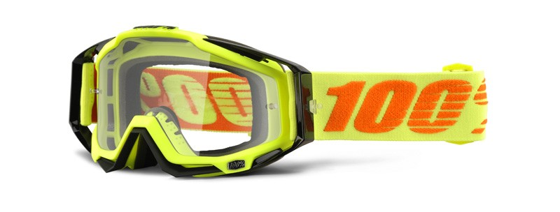 100% Cross Brille Racecraft Attack Yellow