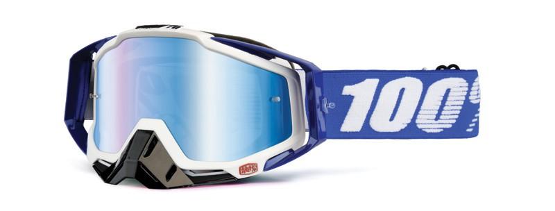 100% Cross Brille Racecraft Extra Cobalt blue