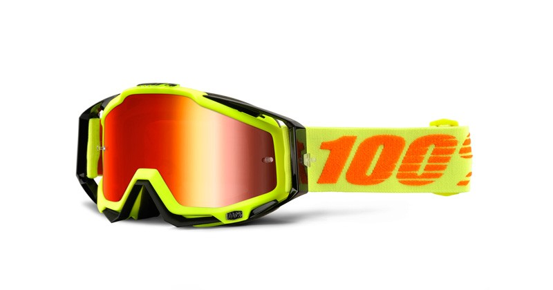 100% Cross Brille Racecraft Extra Attack Yellow