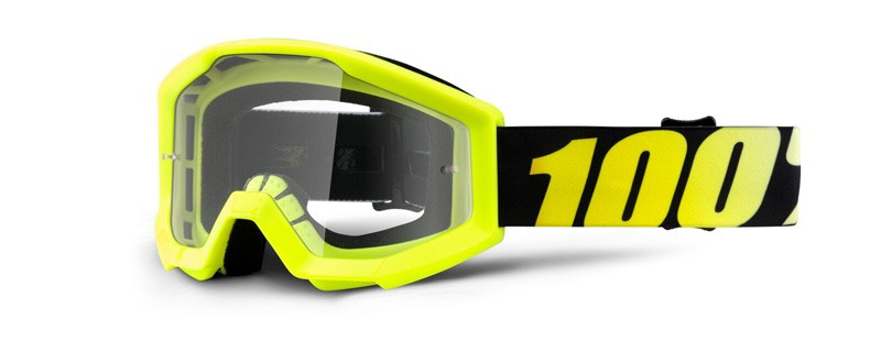 100% Cross Brille Strata Junior Neon Yellow
