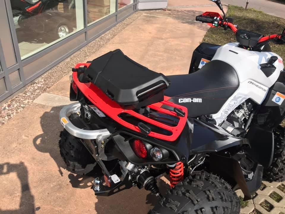 Can Am Renegade Gepäckträger mit LinQ™ System schwarz oder rot