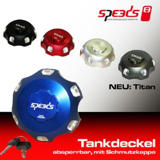 SPEEDS Tankdeckel abschließbar, titan