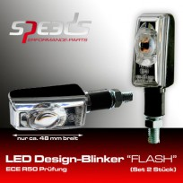 SPEEDS LED Blinker schwarz