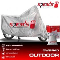 SPEEDS Zweiradgarage, Grösse: L, 244x90x117cm