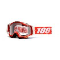 100% Cross Brille Racecraft Fire red