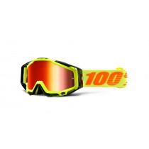 100% Cross Brille Racecraft Extra Attack Yellow