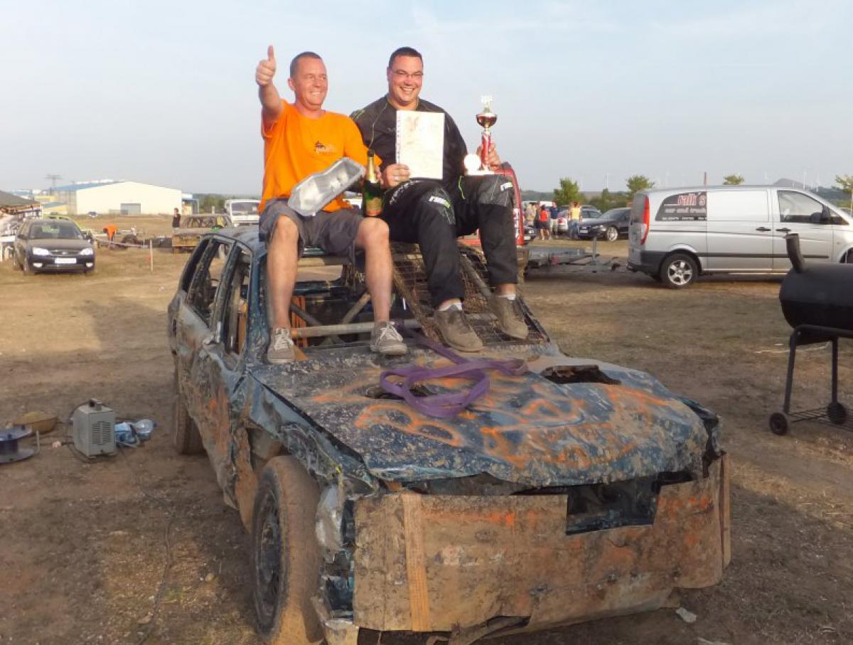 Stockcar Rennen mit quad-Ro