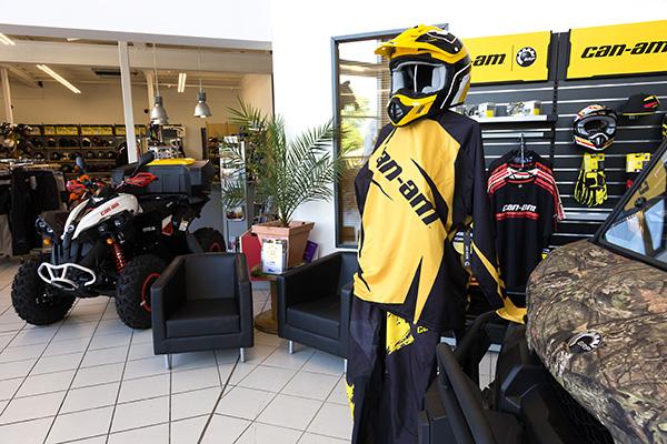 CanAm im quad-Ro Store Ladengeschäft